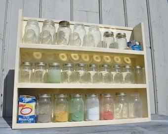 Mason Jar Storage and Display