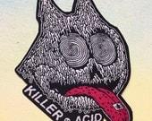 Killer Acid iron-on patch