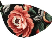 Eye Patch Jeweled Rose Fashion Pirate Cosplay Steampunk Victorian Floral