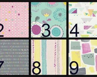 Baby Blanket, personalized baby blanket, embroidery,  Minky Baby Blanket, Crib blanket, aqua, yellow, pink, gray