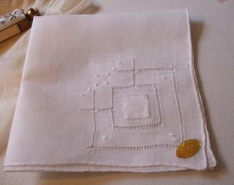 Handkerchief Irish Linen Hanky Bridal Wedding June Bride
