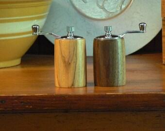 Handmade Wooden Salt and Pepper Grinders - Handmade Wooden Salt and Pepper Mills – Wood and Ceramic Grinder-Wood and Ceramic Mills-SPM306