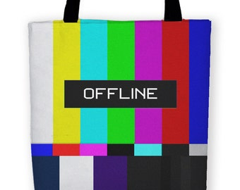 OFFLINE ANALOG Carryall Tote Bag