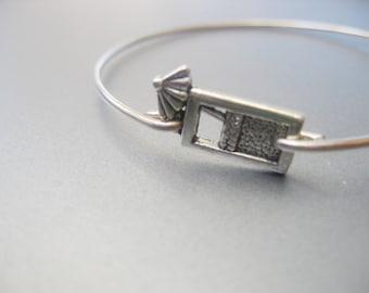 UMBRELLA DRINK bangle bracelet