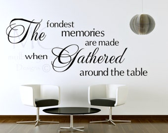 Dining Room Decals Etsy - Wall stickers for dining roomdining room wall decals wall decal knife spoon fork wall decal