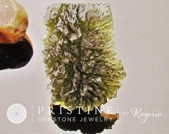 Moldavite Over 80 Carats Rare Gemstone Collector Piece Meteorite Origin