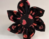 Dog Flower or Bow Tie - Hearts of Gold