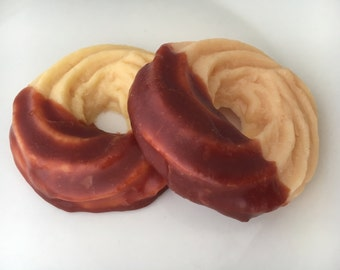Chocolate dipped cookie soap