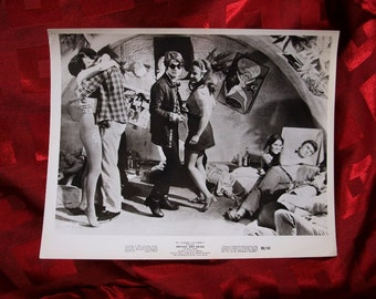 Michael And Helga Movie Still Motion Picture 8x10 Film Shot Beat Hip Dancing Club Cavern 1969 Original R&R Pop
