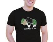 Buffalo Irish Men's T-shirt Buffalo Irish Buffalo Men's Tshirt Buffalo wearing kilt love buffalo irish Gift Fun