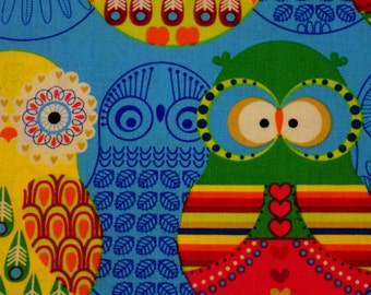 OWLS ~ Multi Colored Owls ~ Birds