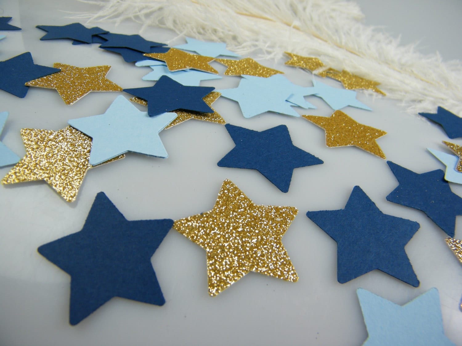 twinkle little star baby shower confetti gold blue party decoration pick your glitter color. Black Bedroom Furniture Sets. Home Design Ideas