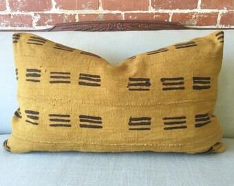 Kofe Mud Cloth Pillow w/ down insert - #1