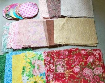 """Fabric Squares-4x4"""" destach"""