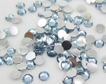 Blue Rhinestones-6mm