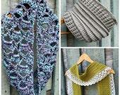 Free crochet pattern, Free crochet scarf pattern, Crochet pattern, Crochet scarf pattern, Crochet Cowl Pattern, Buy 2 get 1 for free