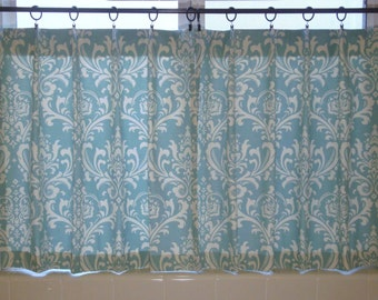Ozborne Kitchen Cafe Curtain Damask Cafe Curtains Kitchen Cafe Curtains