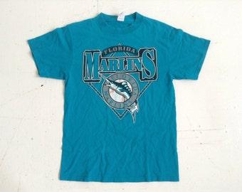1995 MLB Florida Marlins t short large