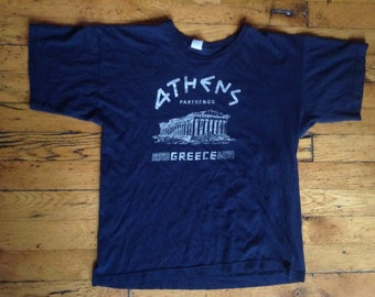 1980's Athens Greece Parthenon t shirt