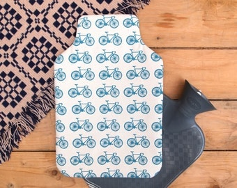 Hot Water Bottle Racing Bike Print