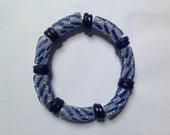Blue African Bracelet