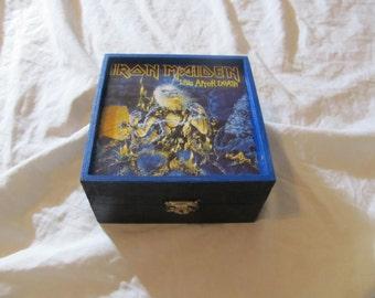 Iron Maiden Live After Death Jewelry Stash Keepsake Box