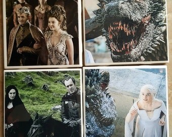 Calling All GOT Fans!  Set Of 4 Coasters