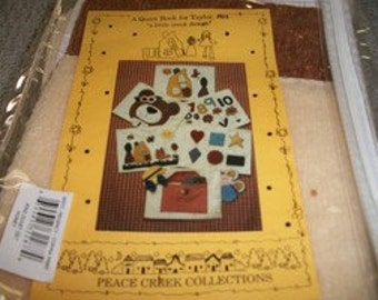 A Quiet Book Kit
