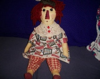 """30"""" Raggedy Ann Doll"""
