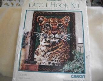 Leopard Latch Hook Kit
