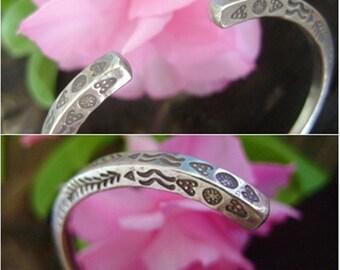 Thai Karen Silver Bracelet - Thai Silver Bracelet (18)