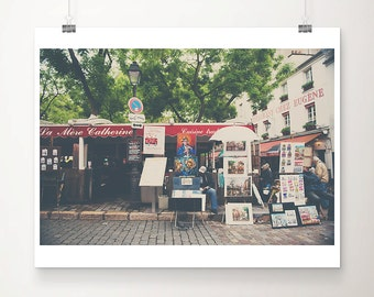 Paris photography Montmartre photograph Paris decor Paris print Montmartre print travel photography wanderlust art Paris art