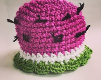 Juicy Watermelon Hat