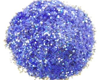 Chrystal Light Purple Sparkle Glitter 0.040 Hex - 1 Fl. Ounce for Glitter Nail Art & Glitter Crafts