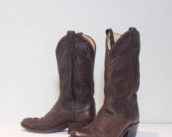40% off Sale 8 D | Men's Dan Post Brown Western Boots