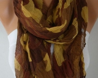 Leopard Print Scarf, Fall Fashion, Camouflage, Shawl Cowl Scarf Gift Ideas For Her women Fashion Accessories Women Scarves