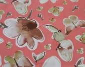 Kathy Davis Enchantment Companions Coral PWKD056 for Free Spirit Fabric/Fabric by the Yard/Half Yard/Fat Quarter/PRICES VARY