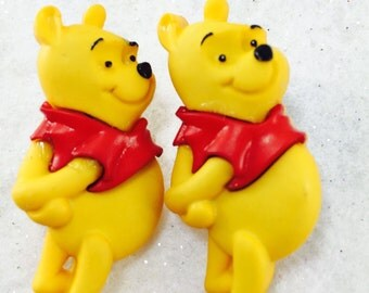 Pooh Bear Earrings, Winnie The Pooh Earrings, Winnie the Pooh Jewelry, Cute Disney Earrings
