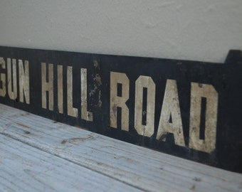 Vintage Subway Sign