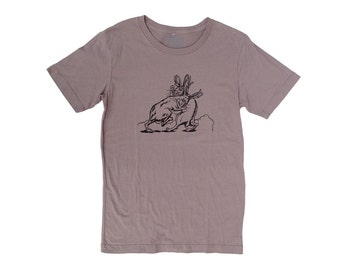 Jackalope Men's T Shirt - SMALL - Men's Shirt - Tee