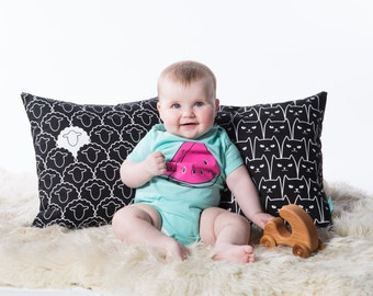 Watermelon Baby One Piece - Screen Printed Baby Clothing - Infant One Piece - Baby Bodysuit - Baby Girl - Baby Boy