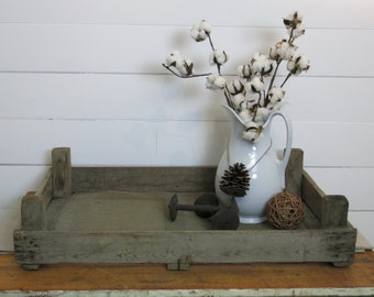 SALE- Antique Dutch tulip crate