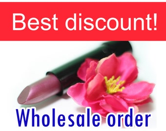Wholesale order - Natural lipstick - Save up to 50 percent - You choose your favorites colorss - Natural makeup
