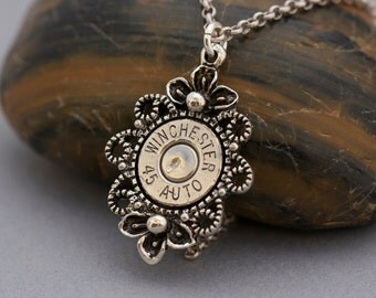 Choice 45 Auto Bullet Necklace-Winchester 45 Auto Necklace-RP 45 Auto Bullet Necklace-Federal 45 Auto-Hornady 45 Necklace-45 Auto Bullet