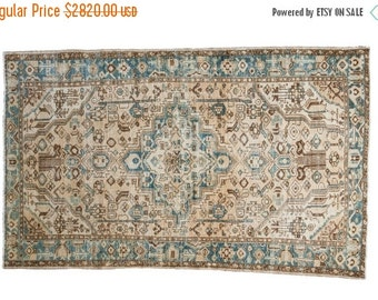 10% OFF RUGS 4x7 Distressed Hamadan Rug