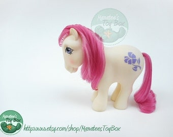 Vintage My Little Pony Mail Order Birthflower February Violet