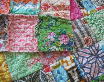 Rag Quilt THROW size - CUSTOM - Designer Fabric Collections TBD