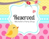 Watermelon Birthday Party reserved listing