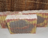 Lemon Eucalyptus Luxury Cold Process Rustic Soap with Shea Butter