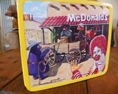 Mc Donald's lunch box 1982